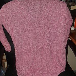 Express Pink Sweater Size M